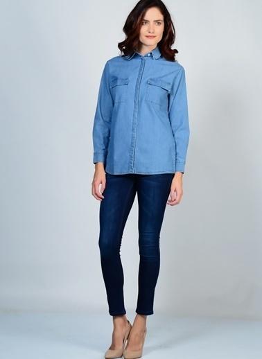 Beymen Studio Gömlek Mavi